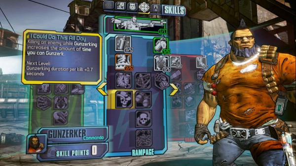 Borderlands 2 - GunzerkerSkills